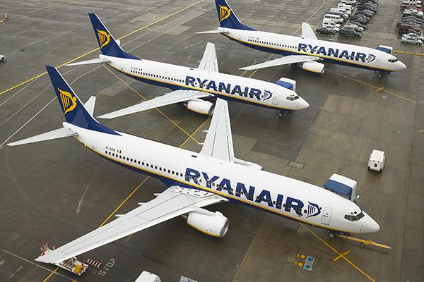 Ryanair crece en ingresos y en pasajeros