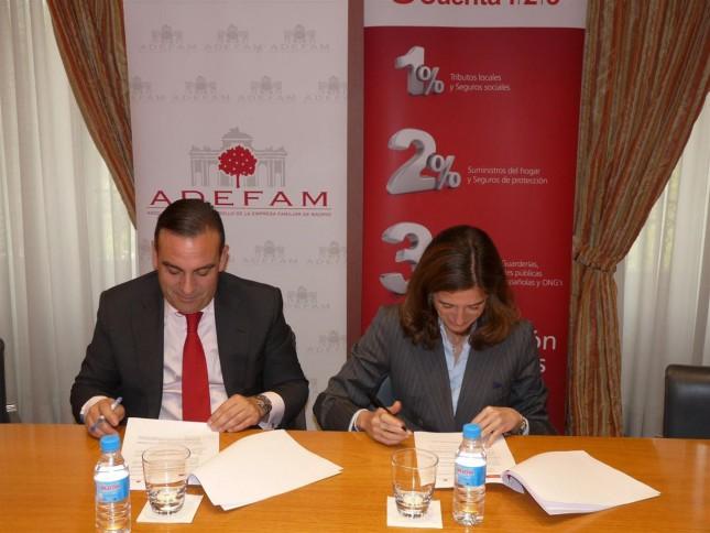 Banco Santander y Adefam impulsan el desarrollo de la empresa familiar de Madrid