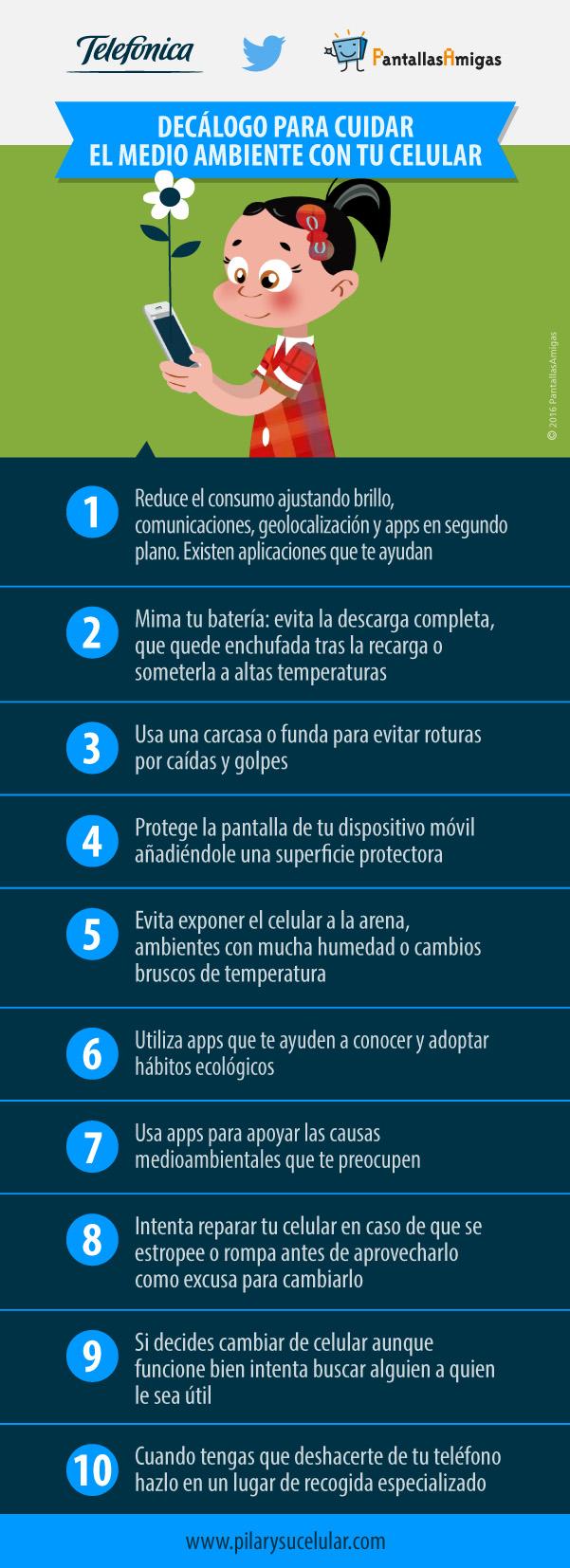 Telefónica lanza decálogo de uso sostenible del móvil por Día de Internet