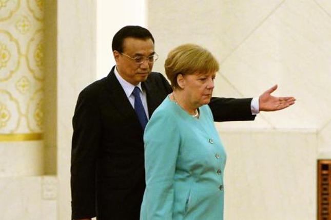 Merkel y Li firman 24 acuerdos de cooperación entre China y Alemania