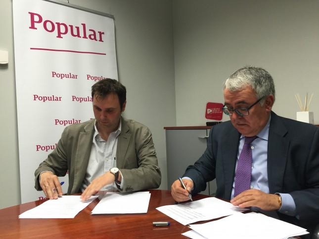 Banco popular firma acuerdo con el colegio de for Santander leon sucursales
