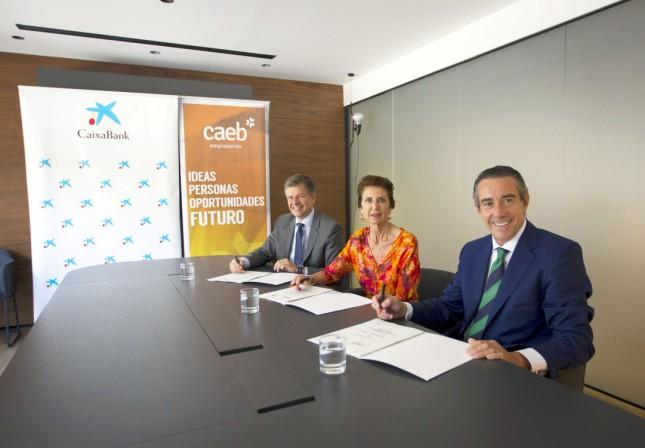CaixaBank y CAEB crean el 'Fórum de Responsabilidad Social y Competitividad'