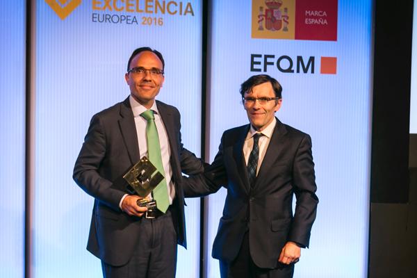 Enagás se convierte en Embajador de la Excelencia Europea 2016