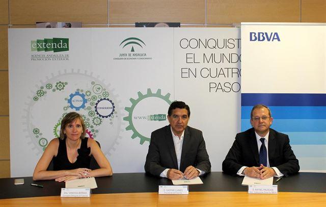 BBVA y Extenda facilitarán servicios financieros a empresas de comercio exterior