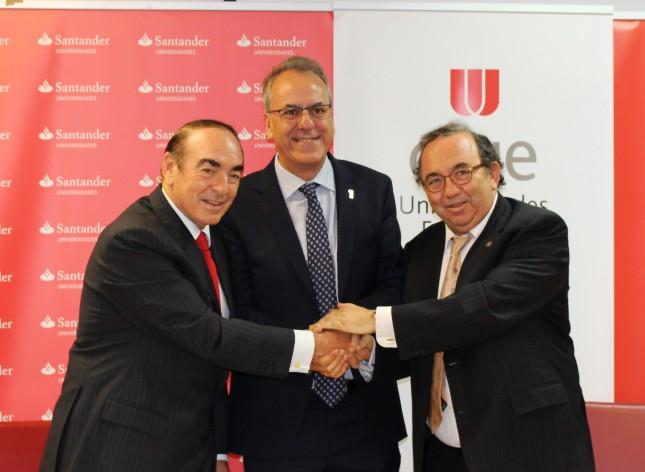 Banco Santander y Crue Universidades Españolas desarrollan el Proyecto Hércules