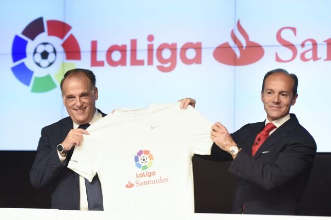 Banco Santander, patrocinador de LaLiga