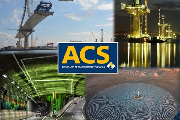 ACS, líder del sector constructor en negocio internacional