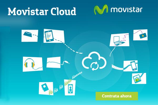 Movistar Cloud, almacenamiento en la nube para particulares y empresas