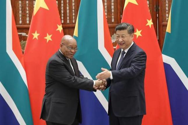 China y Sudáfrica fortalecerán su cooperación