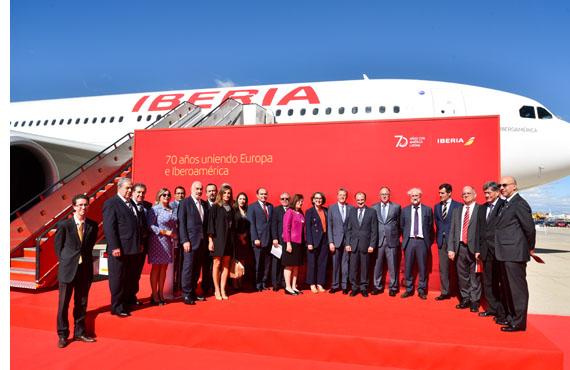 Iberia celebra los 25 años de Cumbres Iberoamericanas