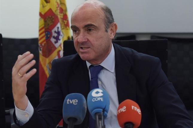 De Guindos: habrá Gobierno en España en las próximas semanas