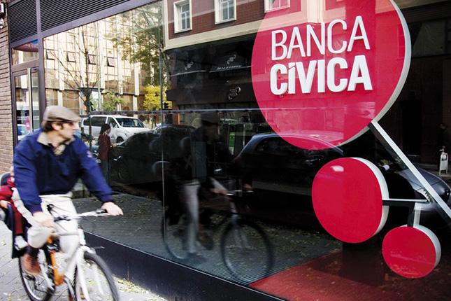 Banca Cívica disminuye su peso en el consejo de CaixaBank