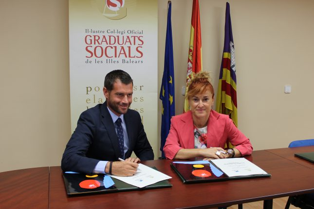 Caixabank renueva su colaboración con el Ilustre Colegio Oficial de Graduados Sociales de Baleares