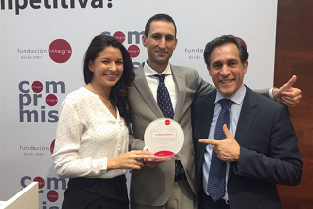 Fundación Integra reconoce compromiso de OHL en inserción laboral de colectivos vulnerables