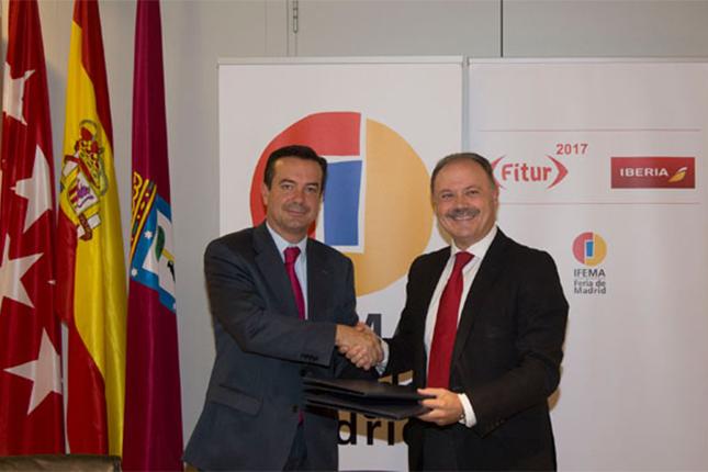 Iberia e IFEMA renuevan su colaboración
