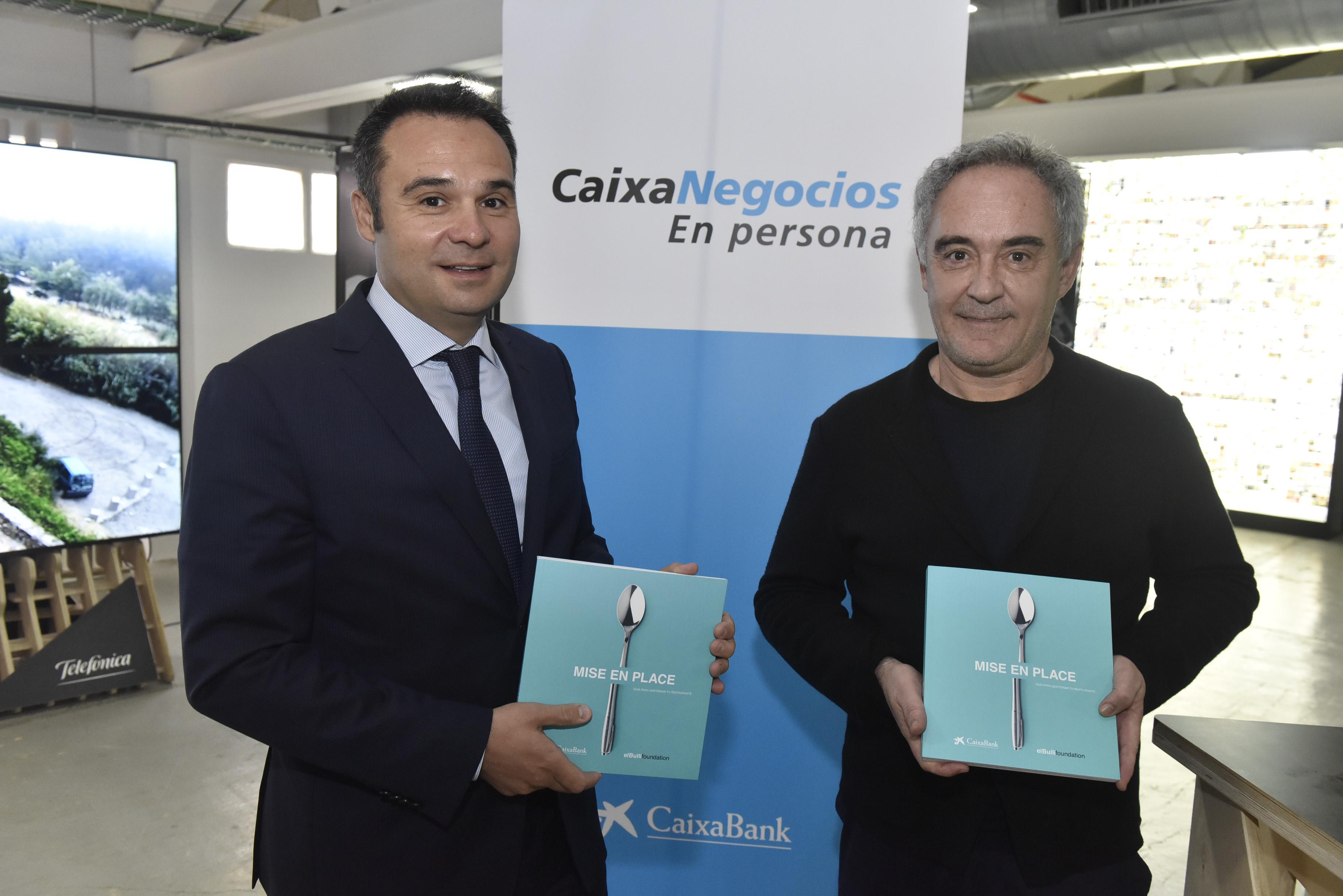CaixaBank y elBullifoundation presentan la Guía para Emprendedores en Restauración