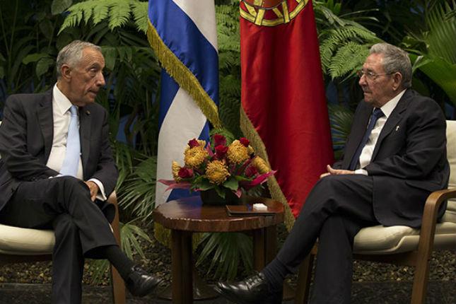 Portugal y Cuba fortalecen nexos