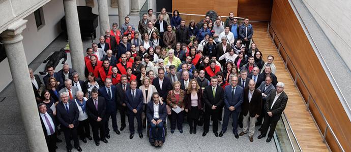 Bankia y la Fundación Caja de Ávila entregan 240.000 euros en ayudas sociales a ONG abulenses