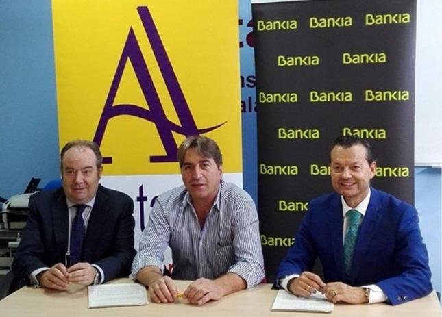 Bankia firma convenio de colaboración con transportistas autónomos de Salamanca