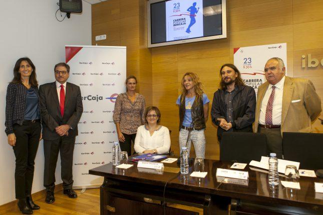 Ibercaja organiza la carrera popular 'Por la Integración'