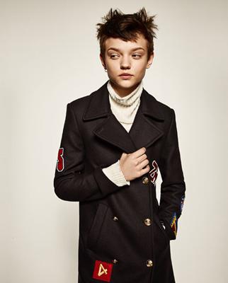 moda de zara-chaqueta boyish