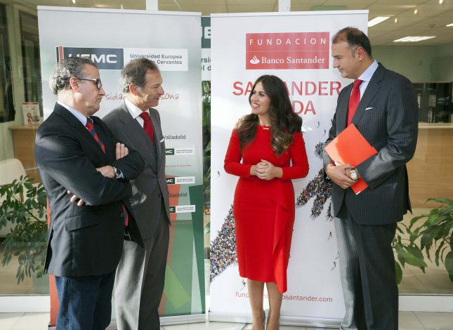 Banco Santander y la Clínica UEMC prestan asistencia bucodental a niños en riesgo de exclusión