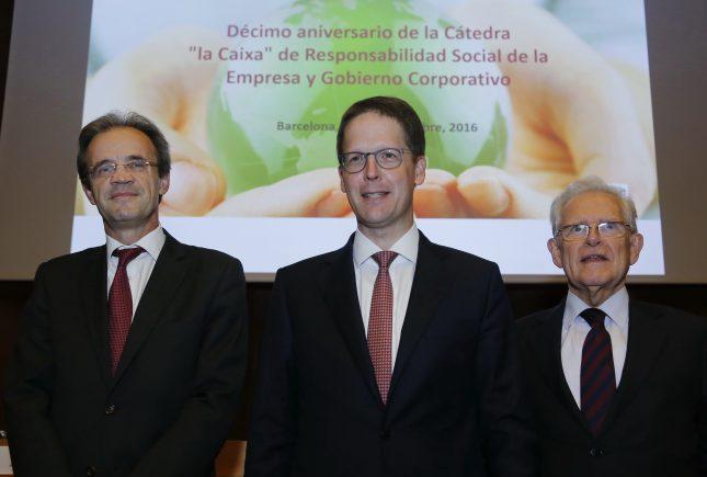 Jordi Gual (Caixabank) defiende la ética corporativa como la clave de la gestión empresarial
