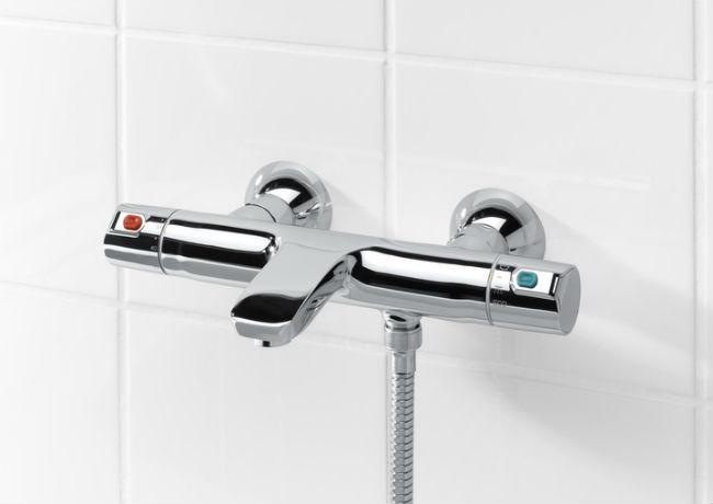 grifo de ducha termostatico