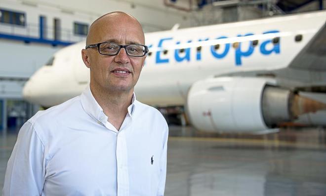 Richard Clark en Air Europa