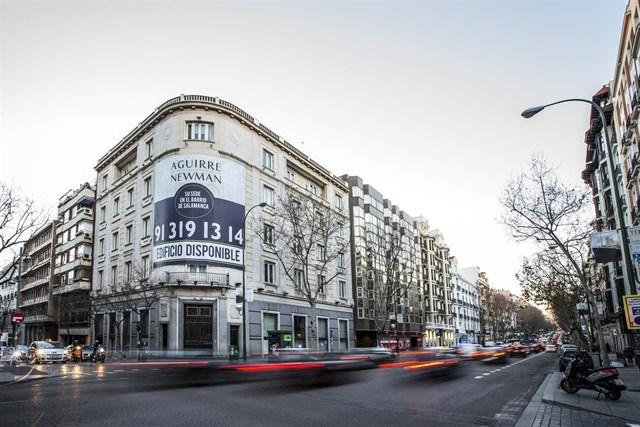 Banco Ceiss vende un edificio emblemático en Madrid