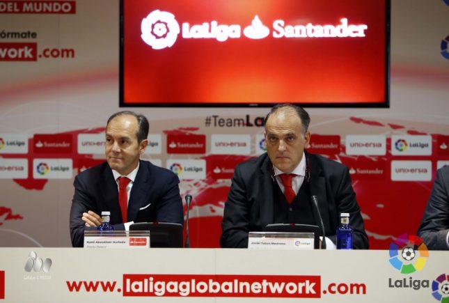 Banco Santander y LaLiga superan los 10.000 candidatos en LaLiga Global Network