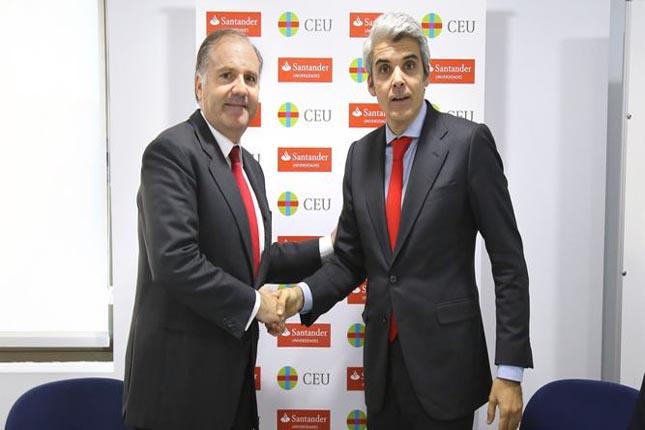 Banco Santander renueva su colaboración con el CEU