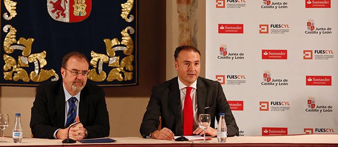 Banco Santander renueva con Castilla y León su compromiso para potenciar el emprendimiento universitario
