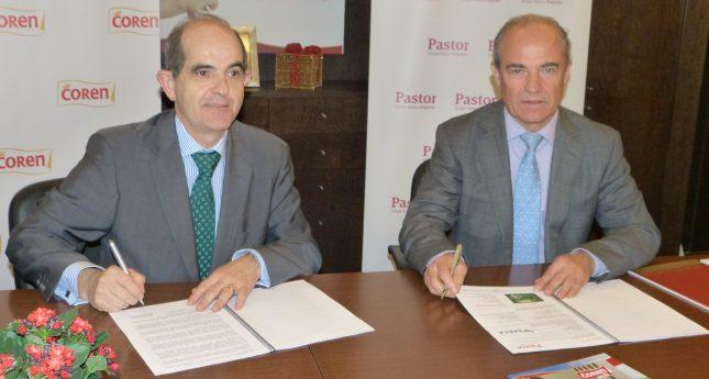 Banco Pastor y Coren firman un convenio para la financiación de los agricultores y ganaderos gallegos