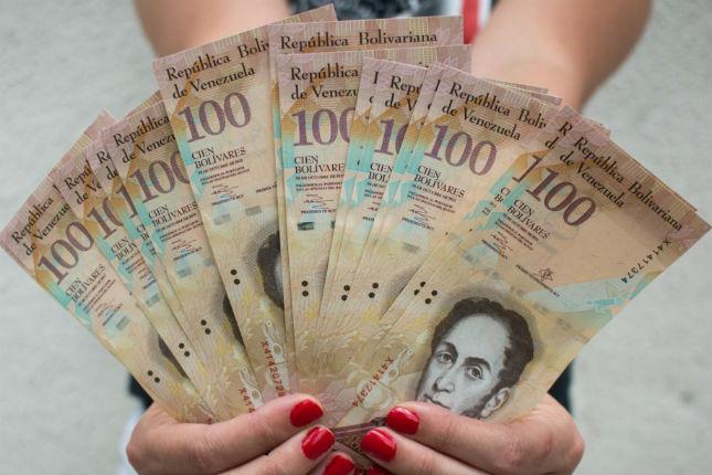 Venezuela retirará de circulación los billetes de 100 bolívares