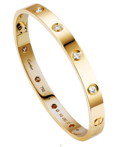 brazalete love cartier