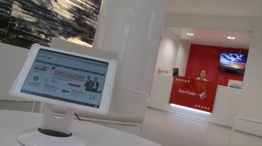 Ibercaja presenta su nueva oficina ibercaja en madrid for Oficinas de ibercaja