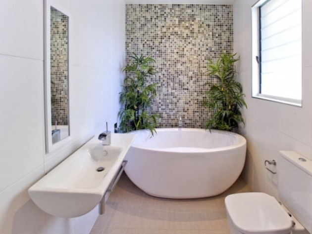 muebles de baño cerámica entera
