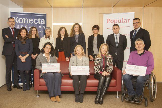 Banco Popular financia proyectos para la integración laboral de personas con discapacidad