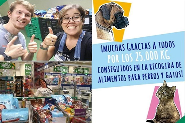 El 000 Animales Inglés Corte 35 Kilos Protectoras Pienso De A Entrega fYgv6yb7