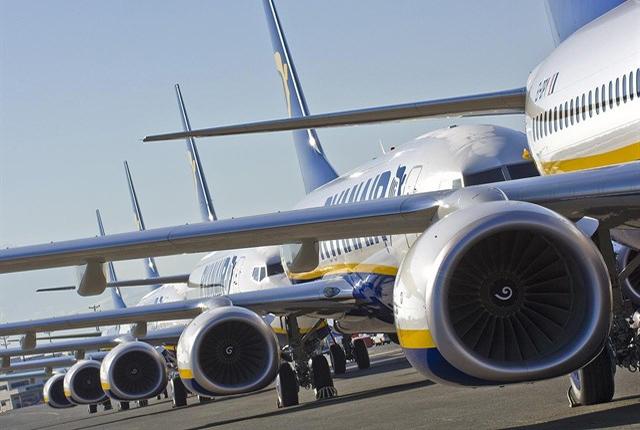 Ryanair transportó 1,8 millones de pasajeros en mayo