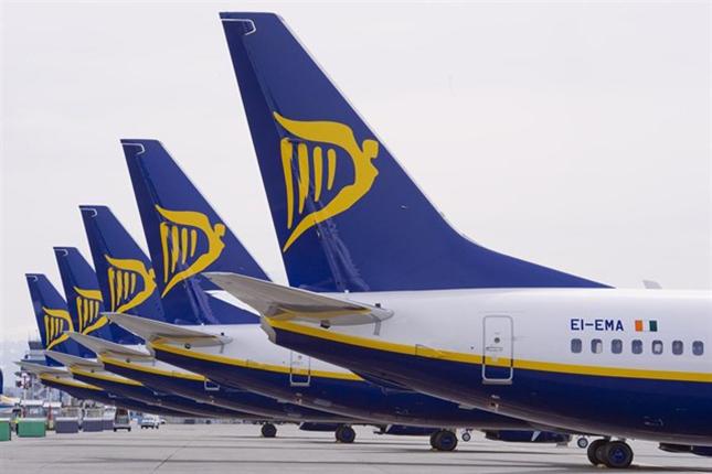 Ryanair tardará en alcanzar su objetivo de 200 millones de pasajeros