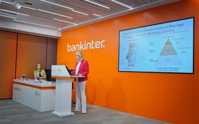 Bankinter gana 124,4 millones en el primer trimestre