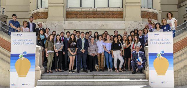BBVA lanza la octava edición del programa de educación financiera 'Valores de futuro'