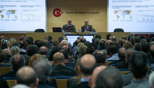 """Josep Oliu: """"La economía española mantendrá su crecimiento elevado"""""""