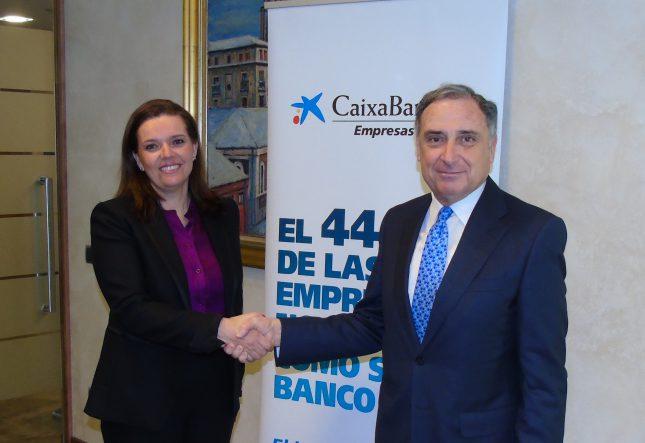 CaixaBank y la CEN renuevan su acuerdo de financiación a empresas de Navarra