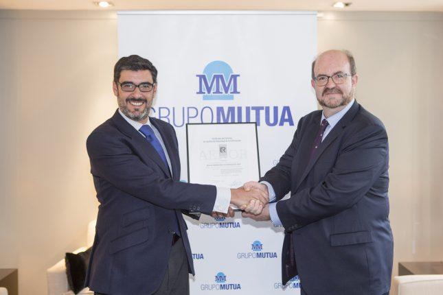 Mutua Madrileña consigue el certificado AENOR por su Gestión de Seguridad de la Información