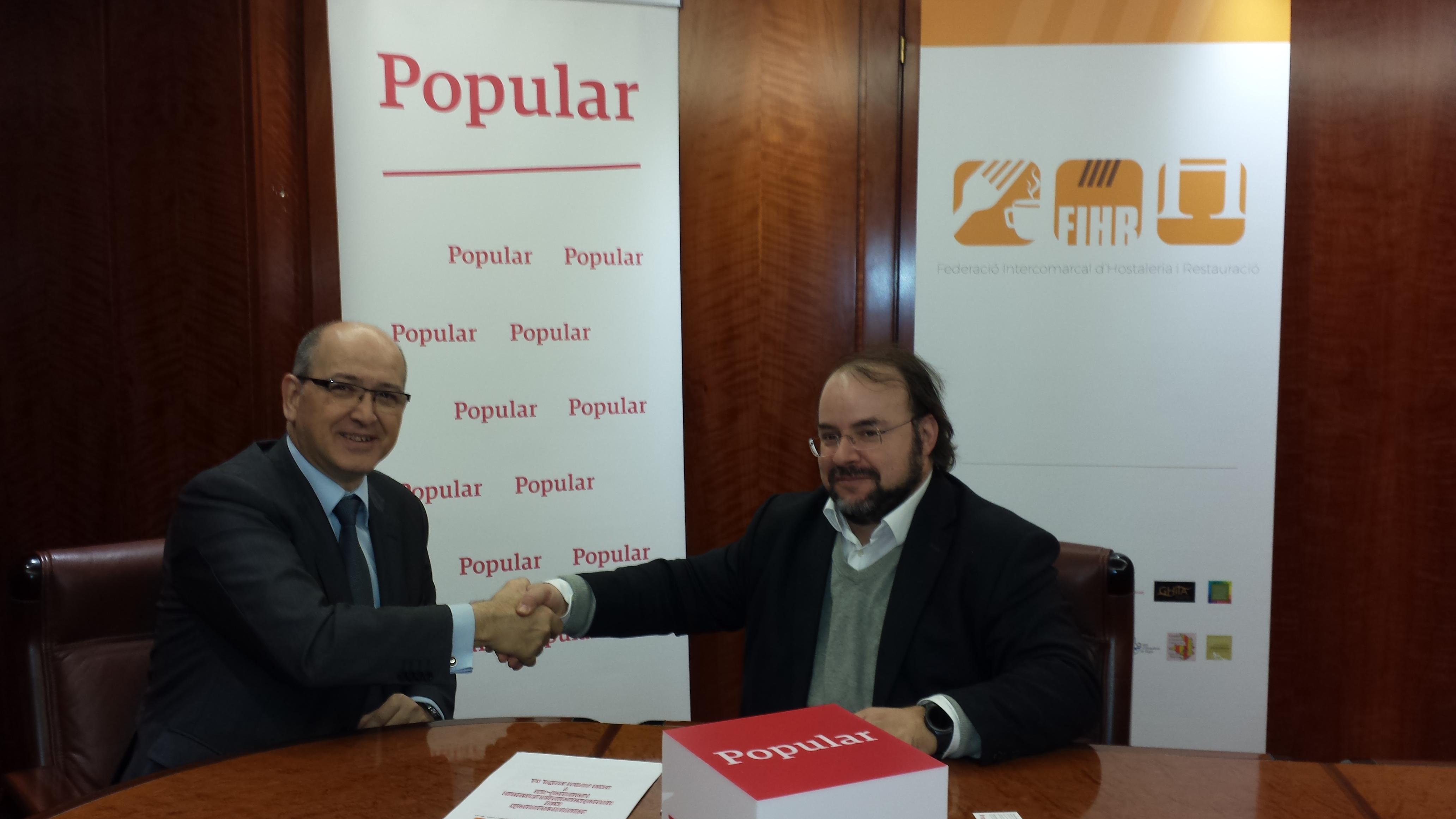 Banco Popular y FIHR firman un acuerdo de colaboración