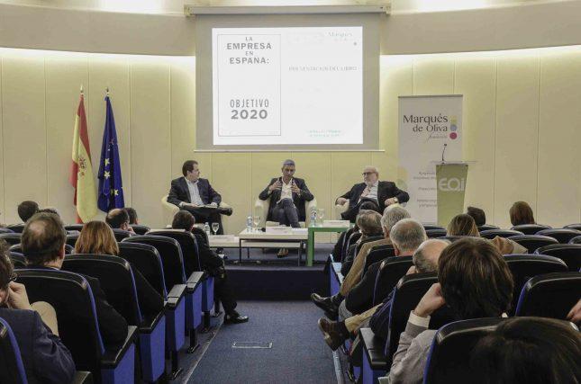 Principales empresarios españoles exponen los retos de la empresa en España en 2020