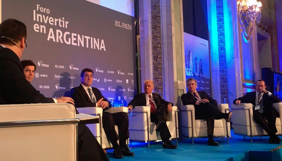 Francisco Reynés pide una mayor regulación jurídica para comprometer nuevas inversiones en Argentina